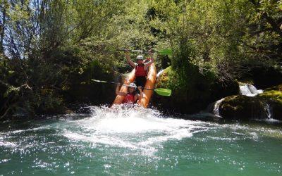 mirjana rastoke kayak safari waterfall dive