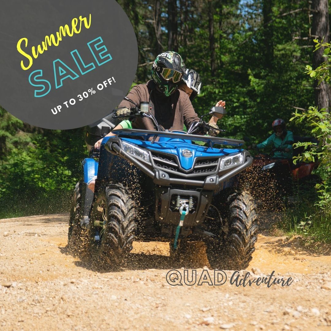 Quad adventure - Special offer