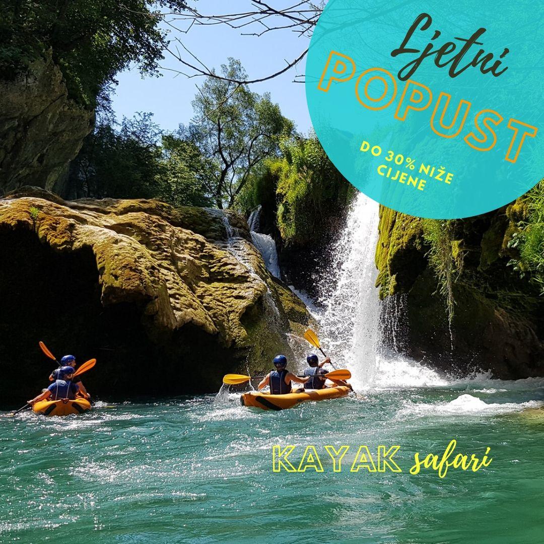 Kayak safari - Posebna ponuda