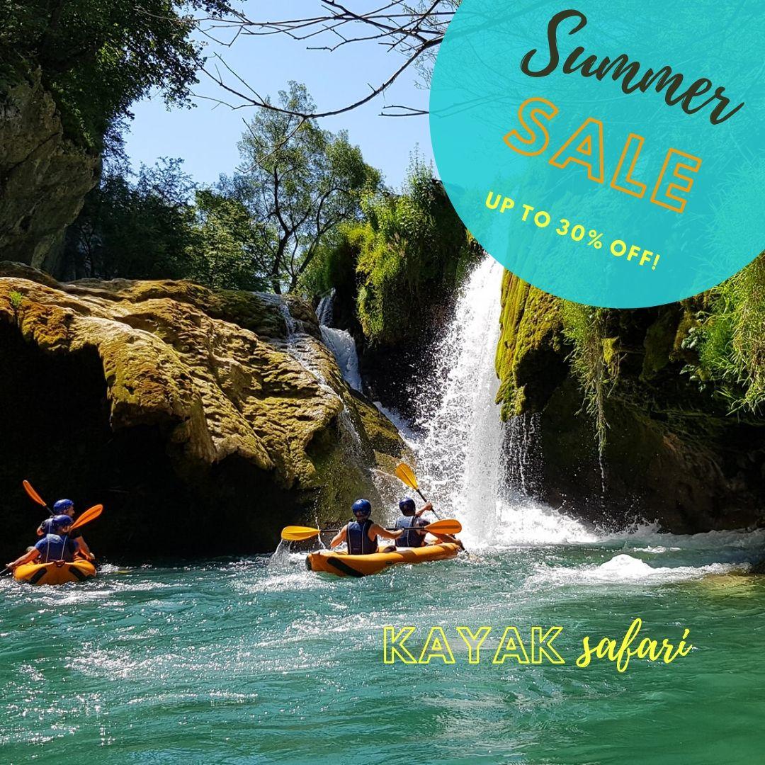 Kayak safari - Special offer