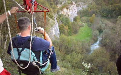 Zip line - adrenalin park Mirjana Rastoke center