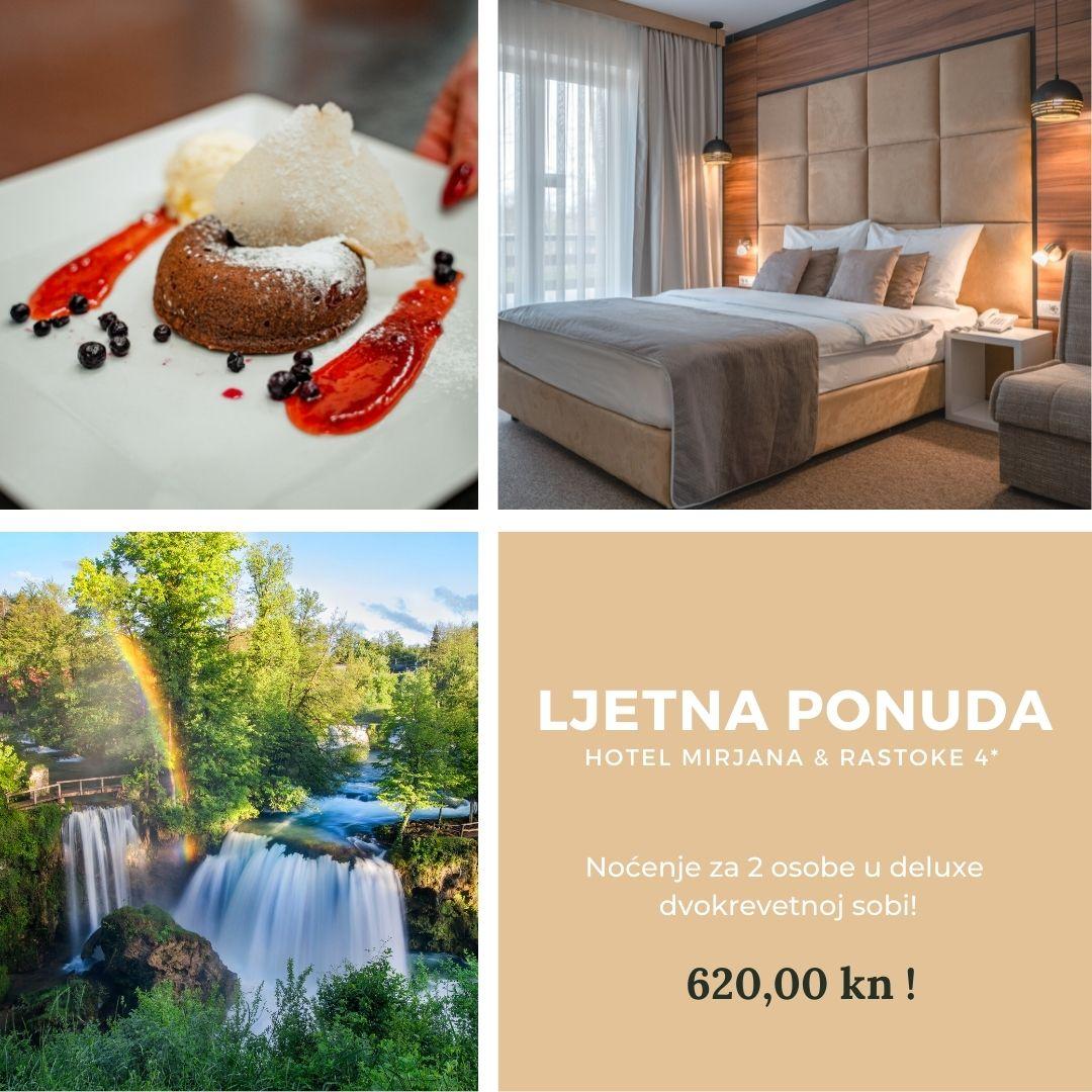 Hotel Mirjana&Rastoke - Posebna ponuda!